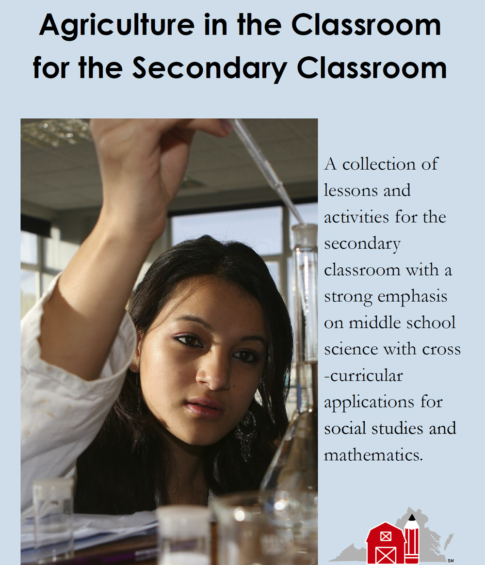 Agriculture in the Classroom for the Secondary Classroom